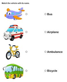 means of transport for kids teach transportation to preschoolers and