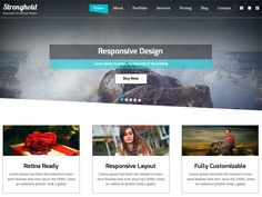 WordPress › StrongHold « Free WordPress Themes