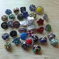 ginger snaps interchangeable button jewelry | ... interchangeable snap button charm fit for snap button leather jewelry