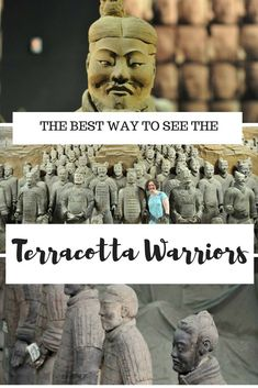 Terracotta Warriors: How to visit the famous statues in Xi'an, China Visiting the Teracotta Warriors Best Travel Guides, Travel Advice, Travel Tips, Travel Destinations, Travel Ideas, Travel Checklist, Travel Goals, Travel Hacks, In China