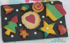 Colourful Cookies Recipe - ET Speaks From Home