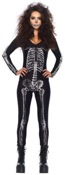 Skeleton Unitard X-ray Medium