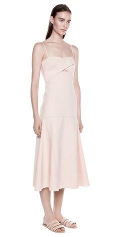 SINGLE KNOT DRESS - by Dion Lee #dress #pink #nattygal #womensfashion