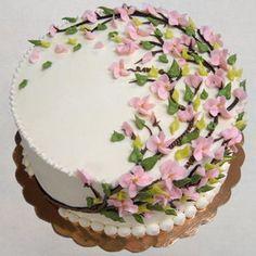 Buttercream Cake Decorating, Buttercream Flower Cake, Cookie Decorating, Decorating Ideas, Pretty Cakes, Beautiful Cakes, Amazing Cakes, Cupcakes, Cupcake Cakes