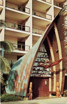 Trader Vic's Polynesian Restaurant, Caribe Hilton, Puerto Rico
