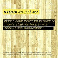 #MensagemPorAmorACampina enviada através do site http://romero45.com.br/ Obrigado pelo apoio, Nyedja.