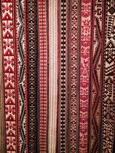 Fajas femeninas mapuches