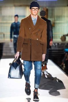 Dsquared² Fall 2014 Menswear Collection Slideshow on Style.com