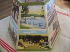 Vintage New Hampshire Postcard Lamp Shade by lampshadelady on Etsy, $55.00