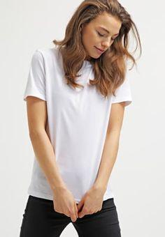 Selected Femme SFMY PERFECT - T-Shirt basic - bright white - Zalando.de