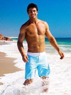 Kaine Lawton. Australian Rugby player
