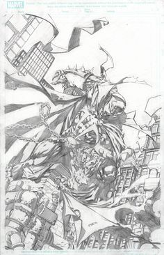Spawn #200 Cover by David Finch (Penciller)