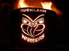 Old school Auckland Warriors art
