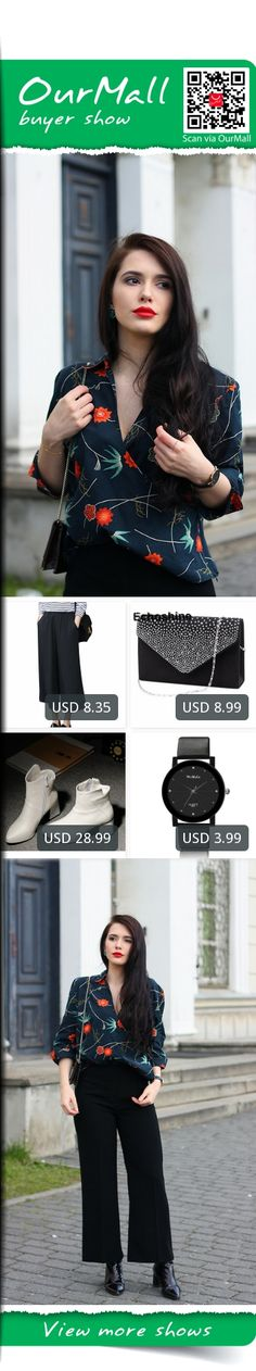 This is Justyna Lis's buyer show in OurMall;  1.Summer Fashion High Waist Chiffon Wide Leg Pants Female Plus Size Loose Casual Nine Yards 2.2016 NEW Ladies Evening Party Small Clutch Bag Eveningbag Bridal Purse Handbag Evening 3.thick with side zipper Martin boots winter new... please click the picture for detail. http://ourmall.com/?yUzeya  #shirt #elegantshirt #stripedshirt #plaidshirt #bandshirt #flareshirt #chiffonshirt #shirtforwomen #shirtforgirls