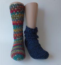 Häkelanleitung - warme Socken Größe 36-43 / 2 Varianten https://www.crazypatterns.net/de/items/7802/meisoks-no1-2-warme-haekelsocken-schoppersocken-groesse-36-43