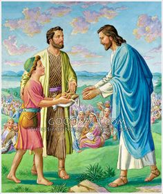 Jesus Feeds Five Thousand Matt 1413 21 Mark 630 44