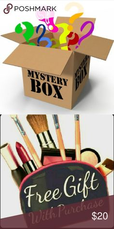 Brand Name Mystery Box Tell me your size and you will get  4 items for ONLY $20 FREE GIFT INCLUDED.  A list of some of the brand names that could go into your mystery box are... Aeropostale Hollister Guess Ralph Lauren Michael Kors Nike Express American Eagle Abercrombie and Fitch Other