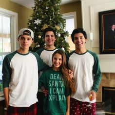 Brent Rivera, Lexi Rivera and Brice Rivera, MagCon Boys