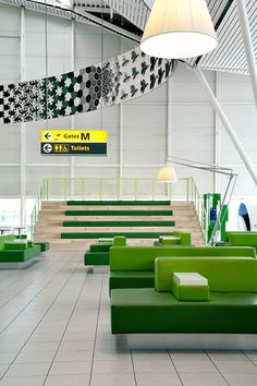 An Airport Terminal That Perks You Up Instead Of Grinding You Down—Images courtesy of Tjep., Images by Mike Bink