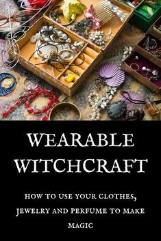 Wearable Witchcraft Wearable Witchcraft,I Want Magic Text: Wearable Witchcraft – How to use your clothes, jewelry and perfume to make magic Related posts:Zodiac Signs (For Fun) - Zodiac signs funnyFunny Donald Trump Memes -. Magick Spells, Wicca Witchcraft, Green Witchcraft, Wiccan Books, Planetary Symbols, Witchcraft For Beginners, Magic Tattoo, Modern Witch, Witch Aesthetic