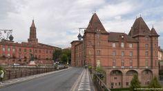 Ville de Montauban dans le Tarn et garonne #tarn #garonne #location #vacances #france