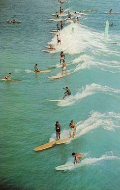 Surfin' USA. Wish we were here.