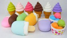 Fancy - Iwako Ice Cream Erasers