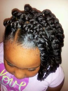 Hairstyles For 7 Year Olds Interesting Natural Hairstyle For Kids  Hair & Beauty That I Love  Pinterest