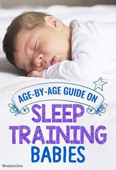 Sleep Training For Babies: Age-By-Age Guide For New #Parents. Sleep training is an important aspect of raising a child! // Mom Junction