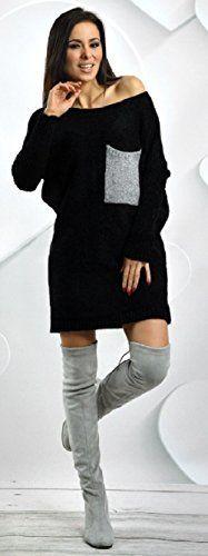 JERSEY DE PUNTO MAXI  El punto es la textura preferida por las frioleras en invierno(nos incluimos en este grupo).  Perfecto en maxi jersey y en vestidos.    Si tuvieramos que elegir un color, sin duda, el negro.   Combinable con todo y muy elegante