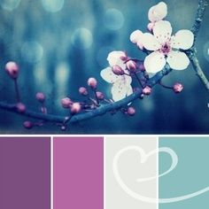 wedding colors schemes for the month of august - Google Search