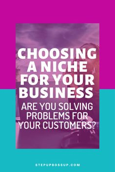Choosing a niche can seem complicated but there is only one rule when choosing a profitable niche, are you solving problems. Find out in the post. Business Checks, Business Tips, Online Business, Start A Business From Home, Starting A Business, Business Ideas For Beginners, Know Your Customer, Tips Online, Ask For Help