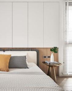 TM Design Studio|Liberal Realms on Behance Bedroom Cupboard Designs, Bedroom Cupboards, Minimalist Living, Minimalist Scandinavian, Home Decor Styles, Interiores Design, Interior Styling, Living Spaces, Bedroom Decor