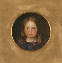 Lucy Madox Brown, 1849 by Ford Madox Brown,