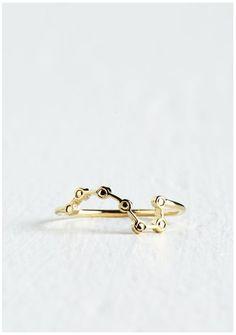 Cool geek jewelry: Ursa major ring