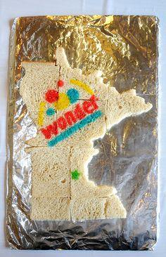 State Of Wonder(bread)  By Mary Samouelian  Duke University Libraries Edible Book Festival