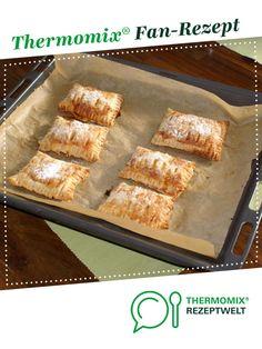 Apfeltaschen von Einbeck1968. Ein Thermomix ® Rezept aus der Kategorie Backen süß auf www.rezeptwelt.de, der Thermomix ® Community.