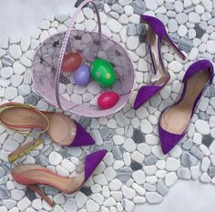 Easter treats for the feet. Gianvito Rossi