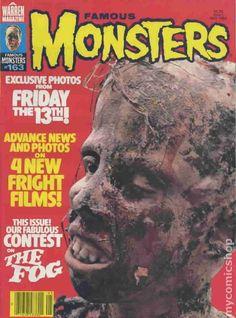 Famous Monsters of Filmland Magazine #163