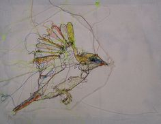 birdie by Lalousha, via Flickr
