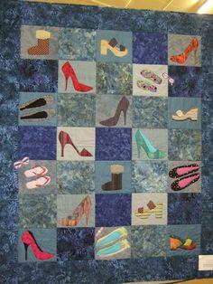 Harriet's shoe quilt