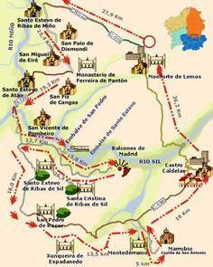MONASTERIOS Y NATURALEZA EN LA RIBEIRA SACRA. Fotos