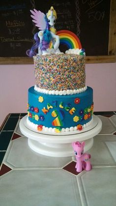 My little pony cake!!!