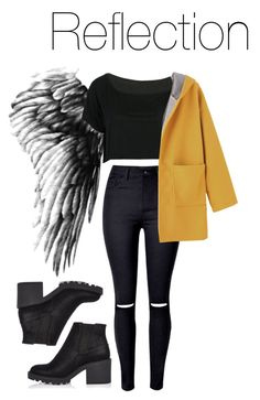 BTS Wings: Reflection by kookiechu on Polyvore featuring polyvore, fashion, style, WithChic, River Island and clothing