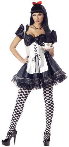 Women's Halloween Dark Alice Costumes