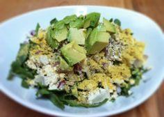 Post-Fitness Power Salad   The Vegan Project