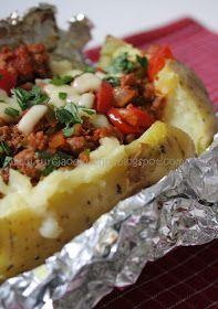 Turcja od kuchni: Kumpir - zapiekany ziemniak