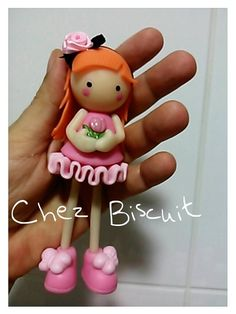 Boneca de biscuit, doll, cold porcelaine, doll in clay,porcelana fria ,menina de biscuit