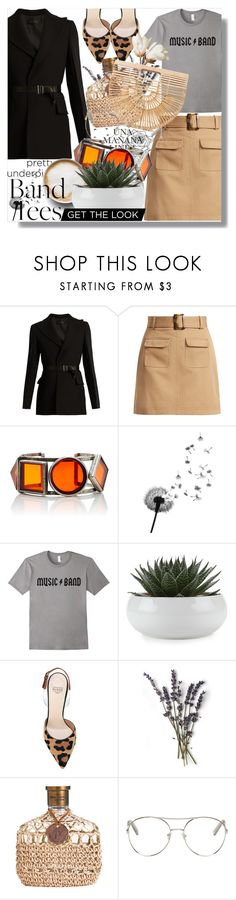 """""""The highlight lookbook"""" by katie888-777 ❤ liked on Polyvore featuring Calvin Klein Collection, AlexaChung, Caffé, Francesco Russo, Chloé and Cult Gaia"""