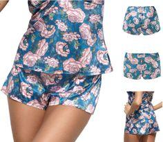 Gossard Nightwear playsuit pyjamas Harmony Floral Print